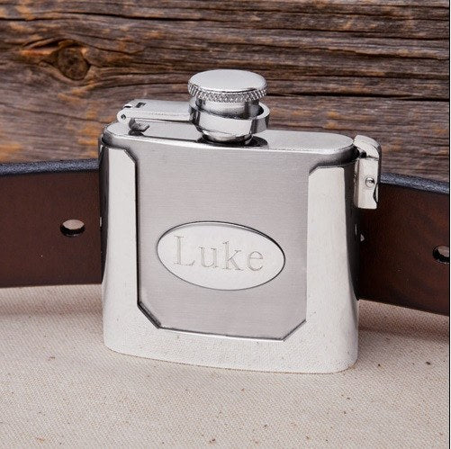 Bar - Strap & Go Buckle Flask