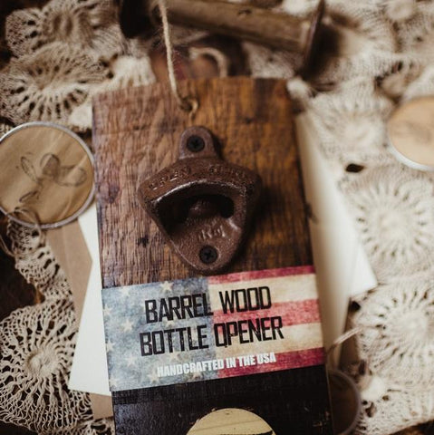 Bottle Openers - Bourbon Barrel Beerheader