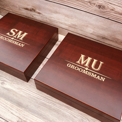 Engraved Groomsmen Gift Set