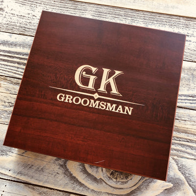 Engraved Groomsmen Fashion Set