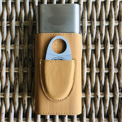 Engraved Cigar Travel Holder