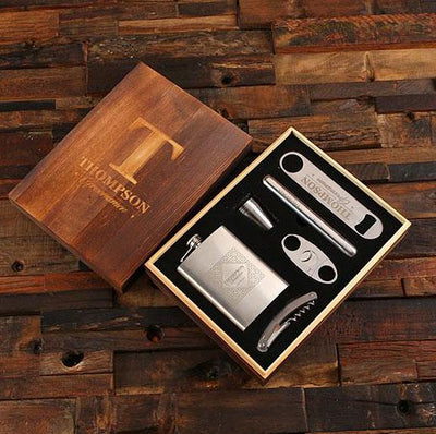 Personalized Bar Gift Set