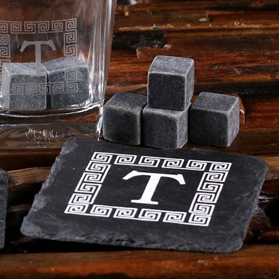 Whiskey Stones and Stone Coasters