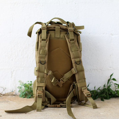 Embroidered Brown Groomsmen Back Pack