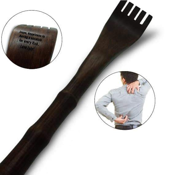 Engraved Wooden Back Scratcher