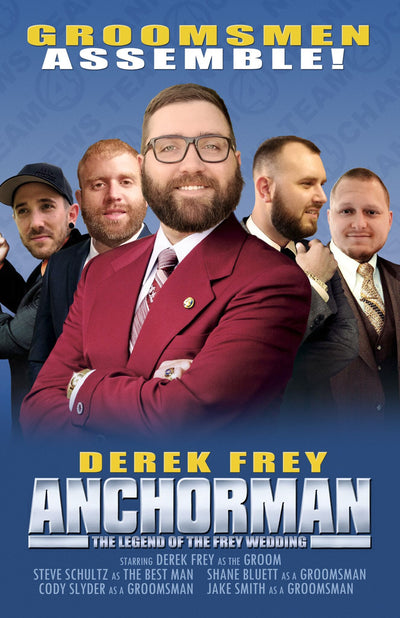 Pub Signs - Groomsmen Movie Poster