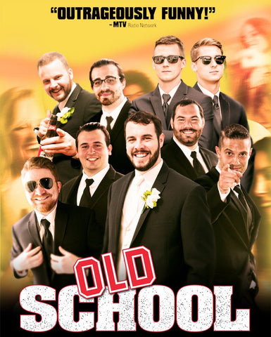 Awesome Groomsmen Gift Idea - Movie Poster