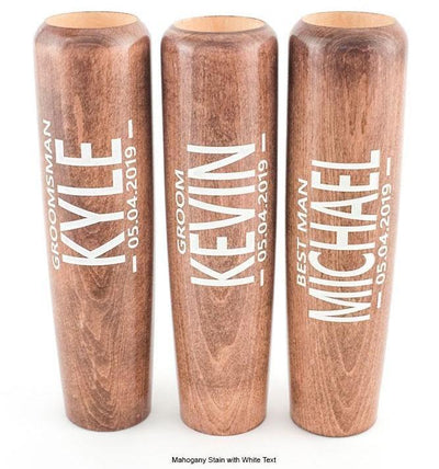 Personalized Beer Mug Made From Maple Baseball Bat