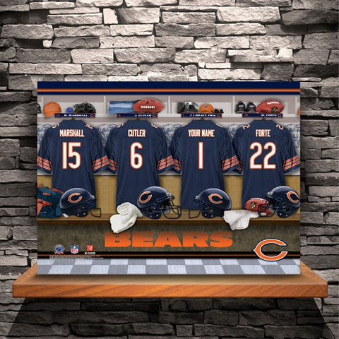 Sports - NFL Locker Room Print