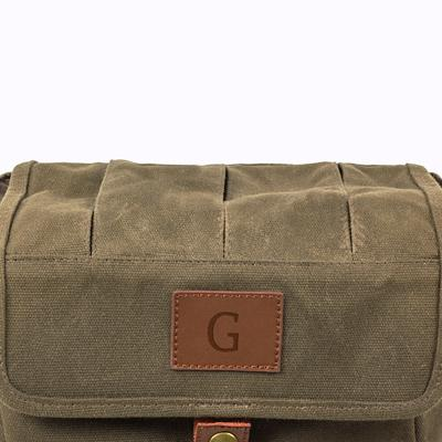 Olive Drab Canvas Beer Tote