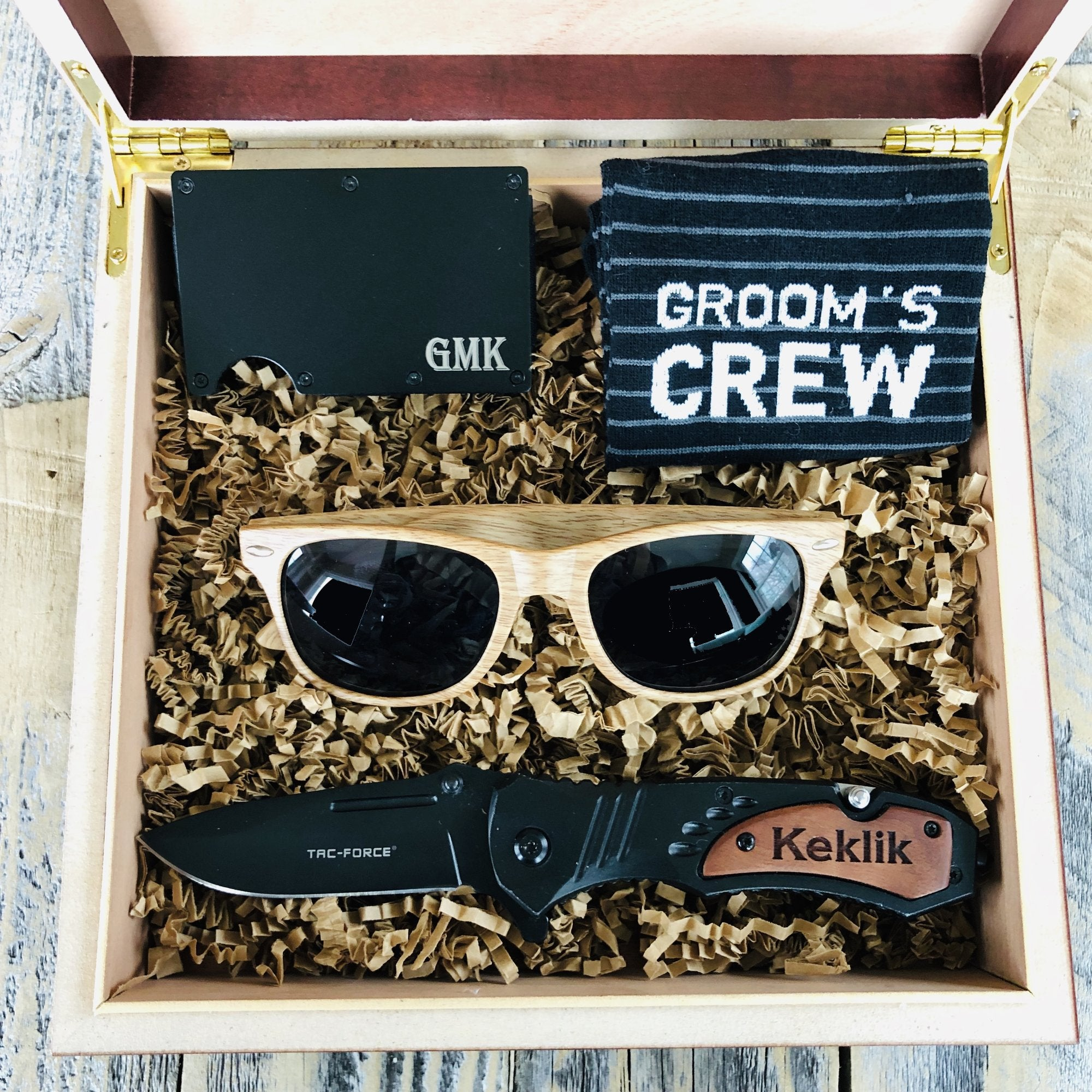 Styling Groomsmen Gift Set