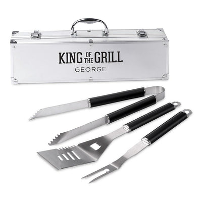 Engraved Grill Set