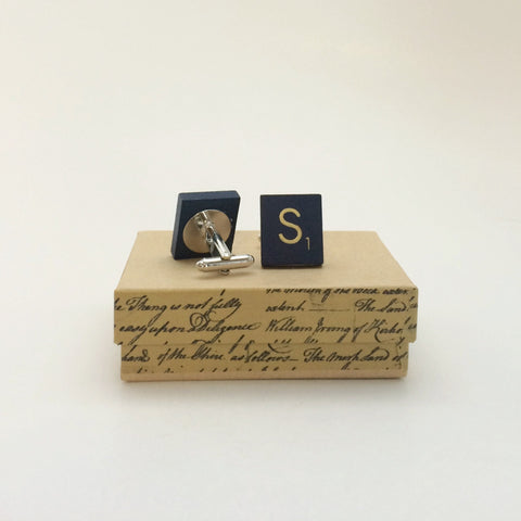 Wearables - Scrabble Cufflinks