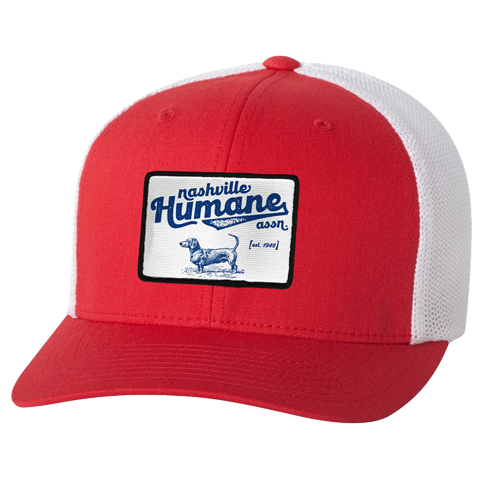 NHA Red Trucker Hat