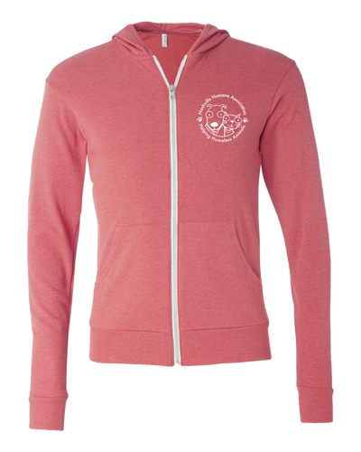 Nashville Humane Association Zip Up Hoodie
