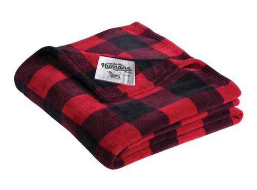 Plaid Nashville Humane Blanket