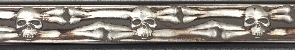 Skull and bones frame sample