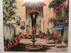 Spanish Patio in Old New Orleans