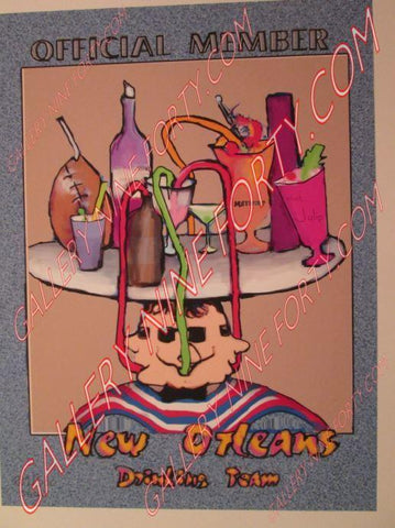 New Orleans Drinking Team