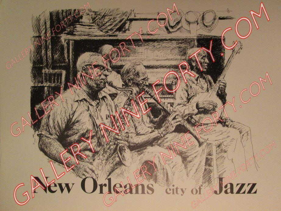 New Orleans, City of Jazz