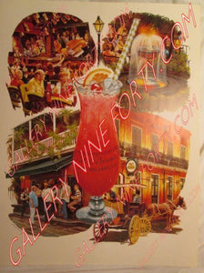 Official Pat O'Brien's Poster 1982, unsigned