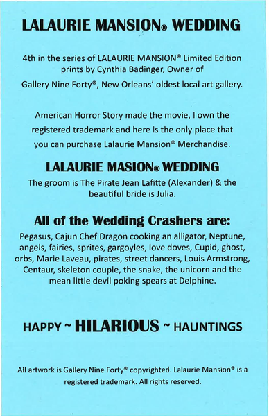 Lalaurie Mansion® Wedding