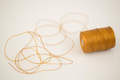 Gold Bead Cord (1 Yard)