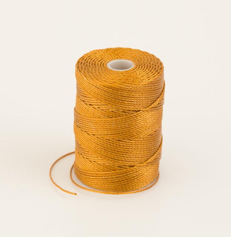 Gold Bead Cord Spool