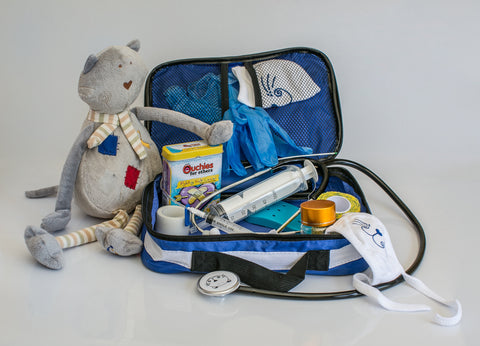Medical Play Kit + Cozy Set