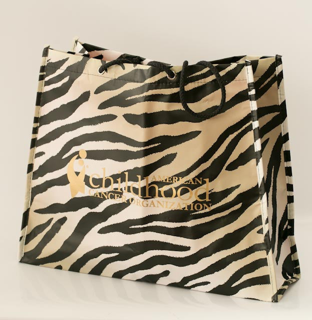 ACCO Zebra Print Awareness Tote