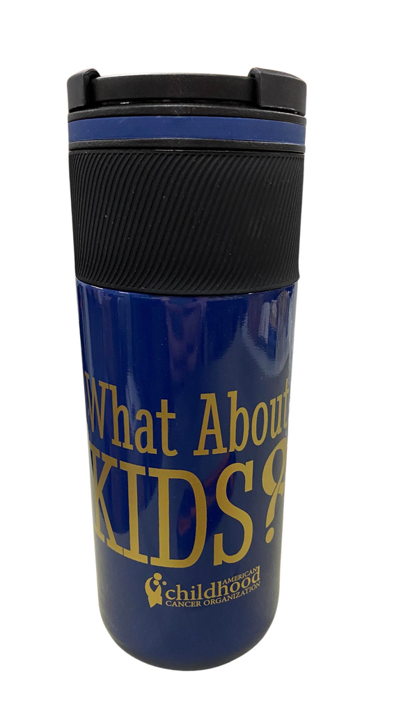 'What About Kids?' Tumbler- 14 oz.