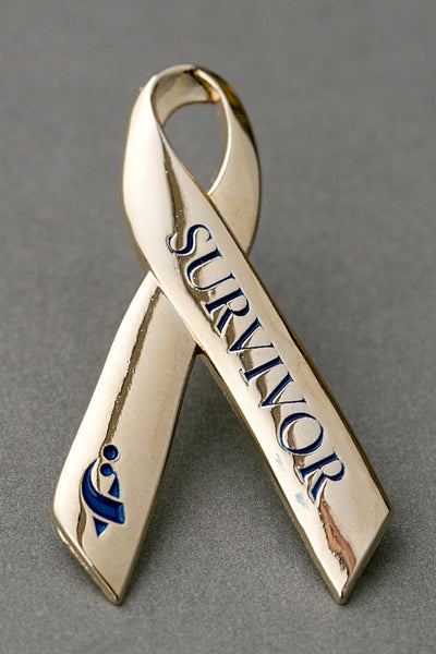 ACCO Gold Ribbon Survivor Lapel Pin