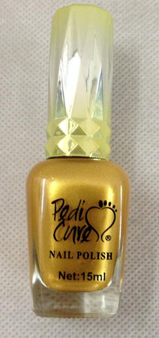 Pedi-CURE™ Gold Nail Polish