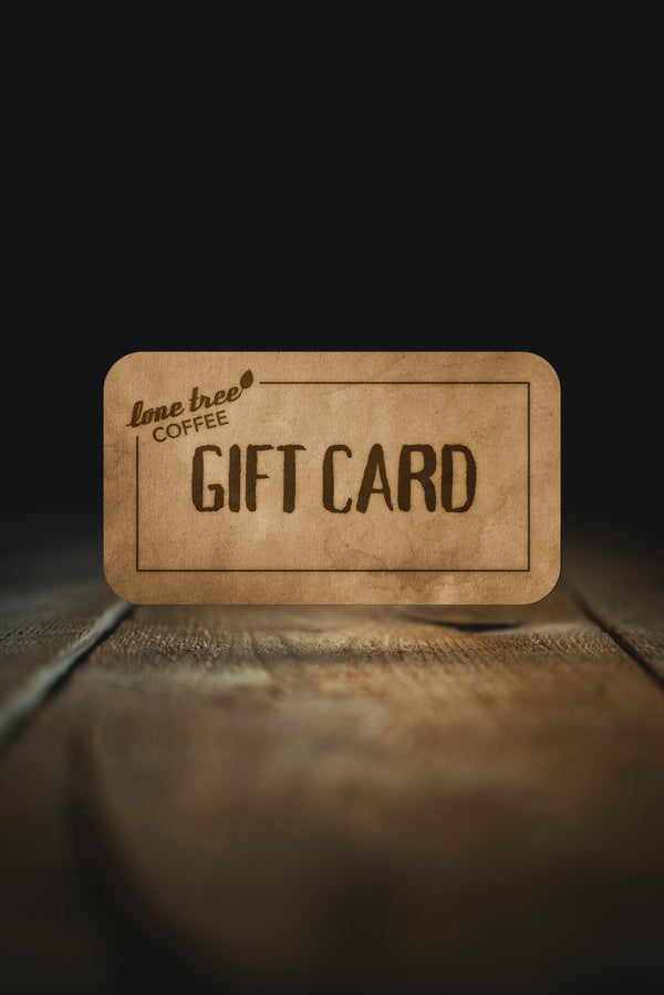 Lone Tree Gift Card - lone tree coffee
