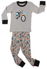 "Elowel Baby Boy ""Motorcycle"" 2 Piece Pajama Set 100% Cotton (Size 6 Months -12 Years)"