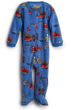 Elowel Baby Boys Footed Crain Pajama Sleeper Fleece (Size 6M-5Years)