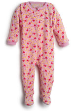 Elowel Baby Girls Footed dogfood Pajama Sleeper Fleece (Size 6M-5Years)