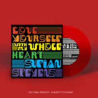 Sufjan Stevens - Love Yourself / With My Whole Heart 7-inch