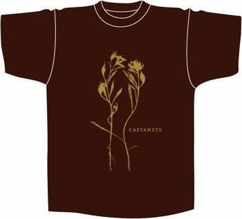 Castanets - In The Vines - T-shirt (Brown)