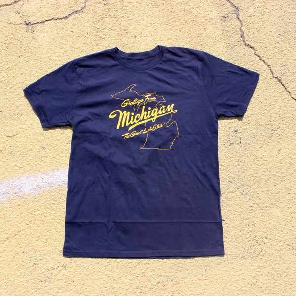 Sufjan Stevens - Michigan - T-Shirt (Blue)