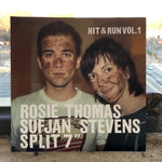 Sufjan Stevens / Rosie Thomas - Hit & Run Vol. 1 Split 7 inch