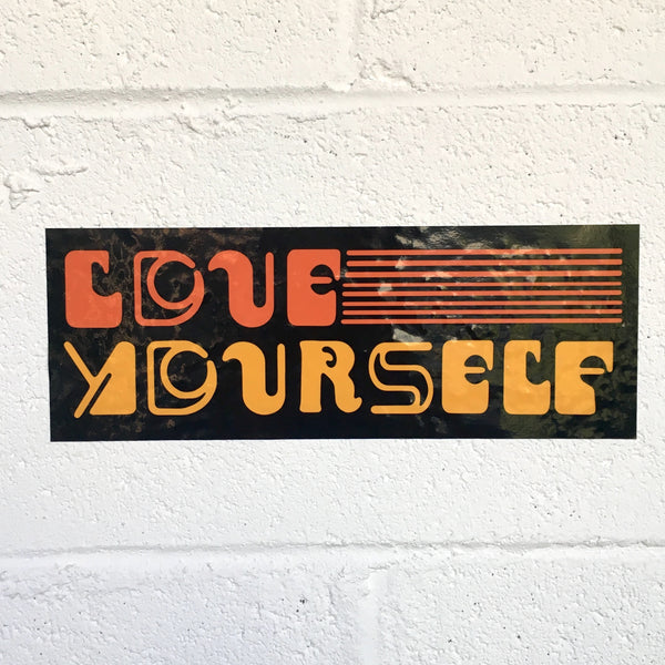 Sufjan Stevens - Love Yourself Bumper Sticker