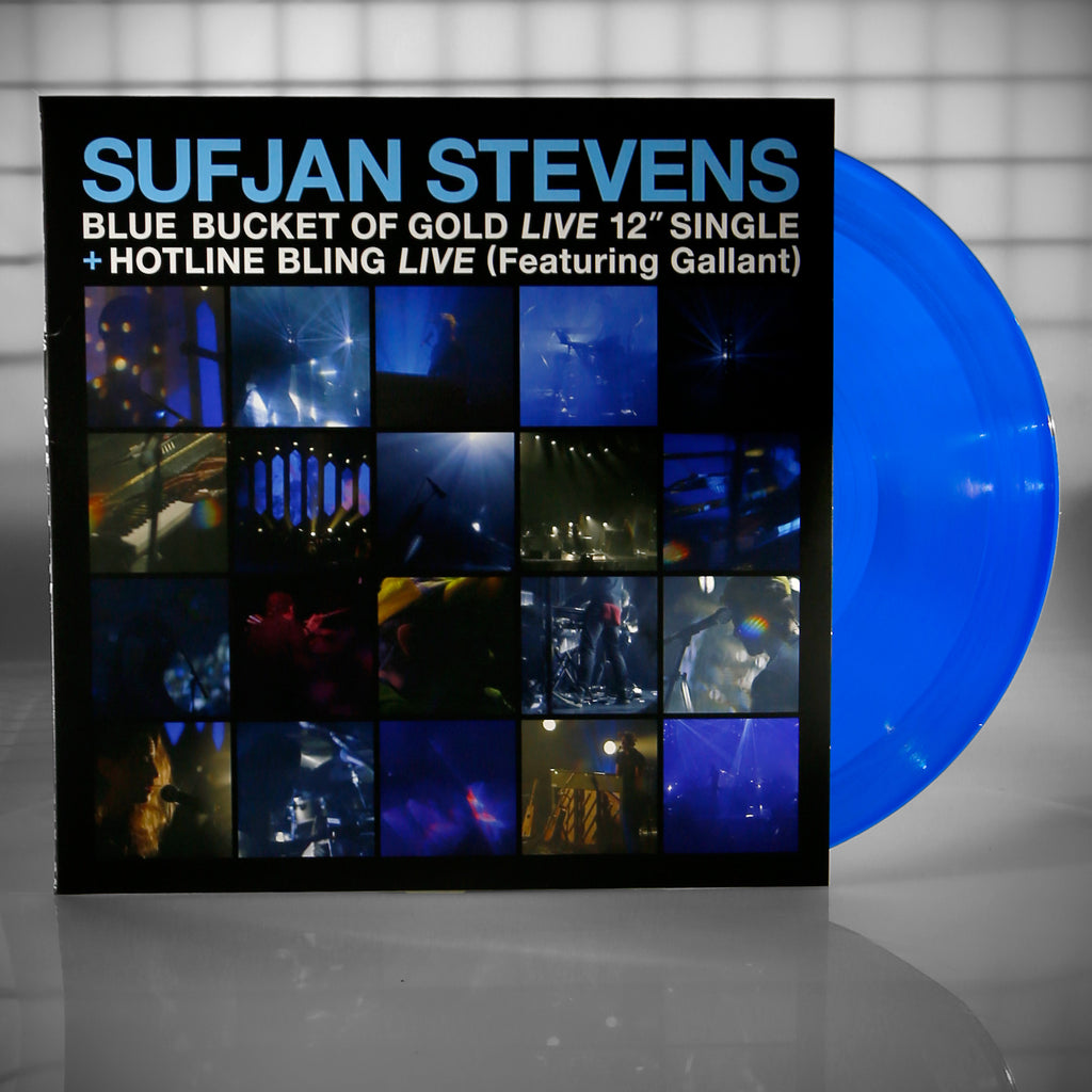 Sufjan Stevens - Blue Bucket of Gold / Hotline Bling (Feat. Gallant) 12""