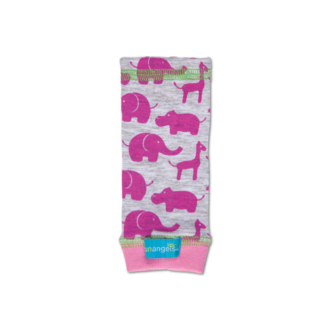 baby girl pink animal sun arm sleeve
