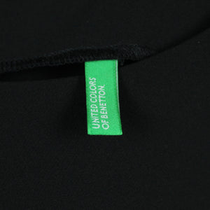United Colors of Benetton Etuikleid Gr. XS schwarz