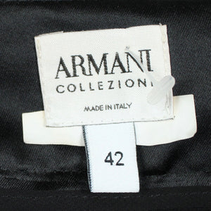 ARMANI High Waist Samtrock Gr. 38 (it. 42) schwarz