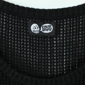 Cheap Monday Stricktop Gr. S schwarz