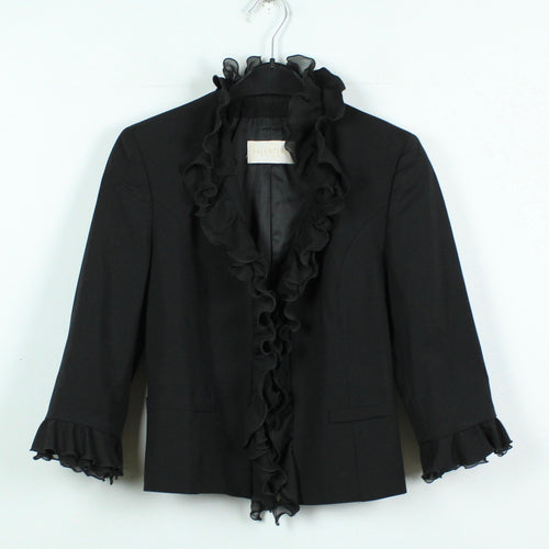VALENTINO Blazer Gr. 38 (it. 42) schwarz 3/4-Arm