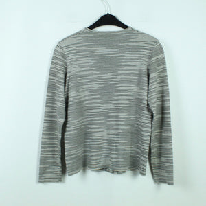 MISSONI SPORT Strickjacke Gr. 40 (it.44) grau gestreift