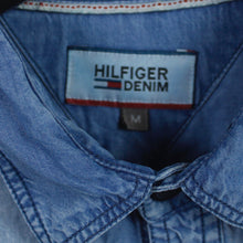 Laden Sie das Bild in den Galerie-Viewer, HILFIGER DENIM Jeanshemd Gr. M blau